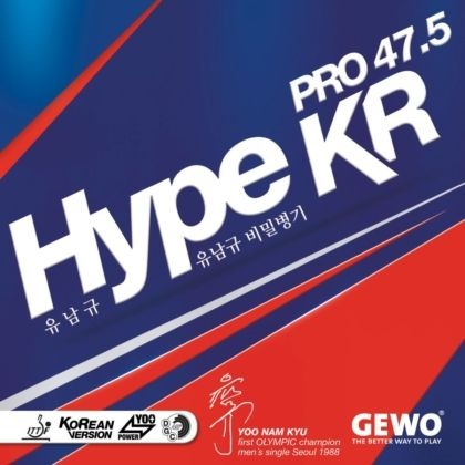 Накладка Andro Hype KR Pro 47.5 2.1 black
