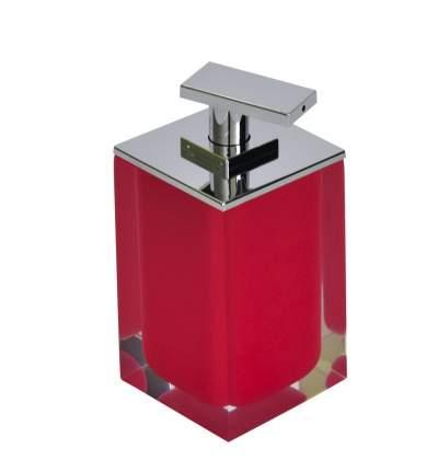 Дозатор для жидкого мыла Colours красный