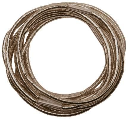 Резинки для волос Dewal RE043 Коричневый 10 шт
