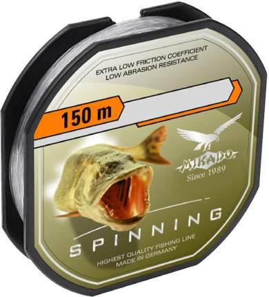 Леска монофильная Mikado Spinning 0,3, 150 м, 9,7 кг