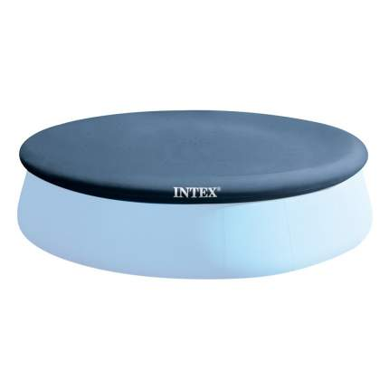 Тент для надувного бассейна intex easy set pool, диаметр 396 см, арт, 28026, Интекс