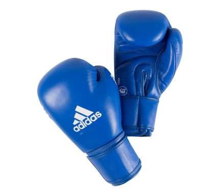 Боксерские перчатки Adidas Aiba синие 12 унций