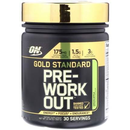 Optimum Nutrition Gold Standart Pre-Workout 300 г (вкус: яблоко)