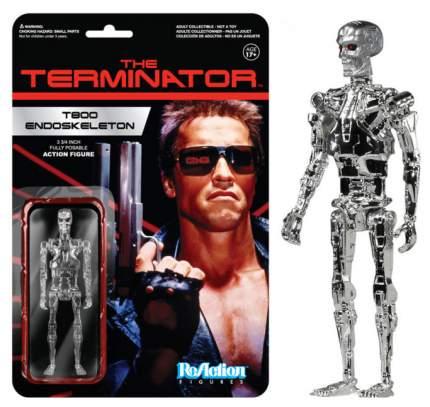 Фигурка Funko POP! Terminator: T800 Endoskeleton Chrome Reaction