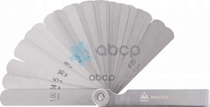 МАСТАК Набор щупов для проверки зазоров 004 -100 мм 25 шт 127-00025