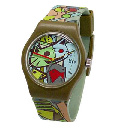 Наручные часы кварцевые женские Kawaii Factory Link Tramp KW095-000089