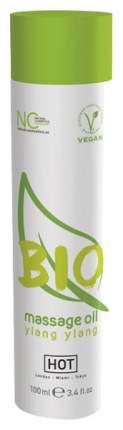 Массажное масло Hot BIO Massage oil ylang ylang с ароматом иланг-иланга 100 мл
