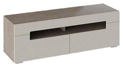 Тумба под ТВ Smart мебель белый/черный