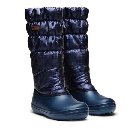 Cапоги женские Дюна 546 ЭВА, темно-синие 40