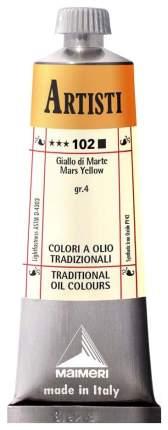 Масляная краска Maimeri Artisti марс желтый 40 мл