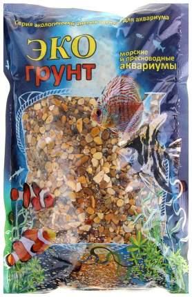 Грунт для аквариума ЭКОгрунт Галька Каспий №1 2 - 4 мм 3,5 кг
