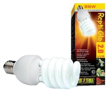 Ультрафиолетовая лампа для террариума Exo Terra Repti Glo 2.0 Compact, 25 Вт