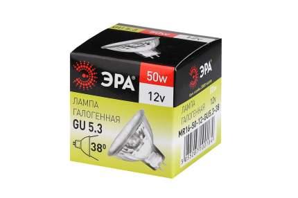 Лампочка ЭРА GU5.3-MR16-50W-12V-Cl