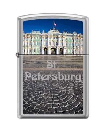 Зажигалка Zippo 250 Winter Palace High Polish Chrome