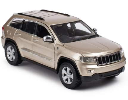 Машинка Maisto бронза - Jeep Grand Cherokee Laredo 2011г 1:24