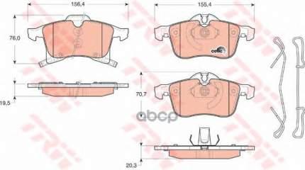 Тормозные колодки TRW/Lucas GDB1668