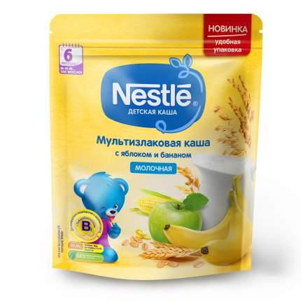 Молочная мультизлаковая каша Nestlé с яблоком и бананом (с 6 мес.), 220г