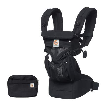 Рюкзак-кенгуру Ergobaby OMNI 360 Cool Air Mesh - Onyx Black
