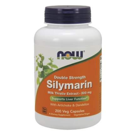 NOW Silymarin 300 мг (200 капсул)  - силимарин, для восстановления печени