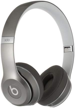 Наушники Beats Solo 2 Silver Luxe Edition