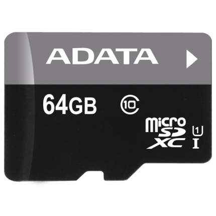 Карта памяти ADATA Micro SDXC Premier AUSDX64GUICL10-RA1 64GB