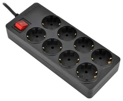 Сетевой фильтр IPPON BK258, 8 розеток, 5 м, Black