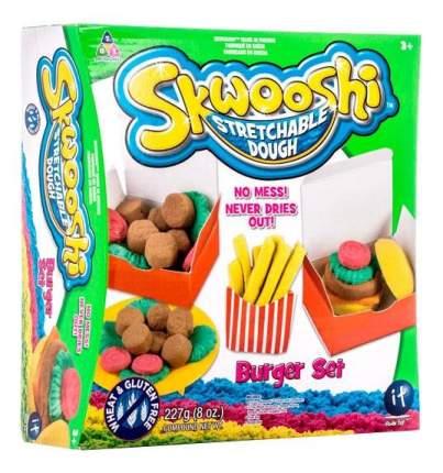 Skwooshi s30021 набор для творчества бургер - масса для лепки и аксессуары
