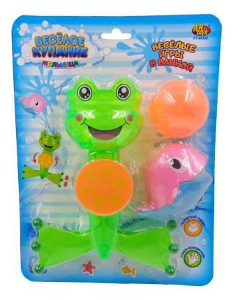 Веселое купание. лягушка-мельница для ванной pt-00532