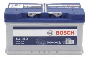 Аккумулятор автомобильный автомобильный Bosch S4 Silver 0 092 S40 100 80 Ач