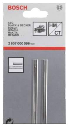 Ножи для рубанка Bosch 2шт HM CT 82мм прямой 2607000096