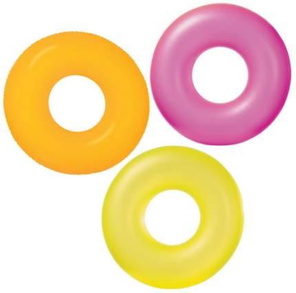 Надувной круг Intex Неон, 91 см, цвет в ассортименте