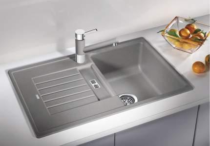 Мойка для кухни керамическая Blanco PRION 5 S 512855 серый алюминий