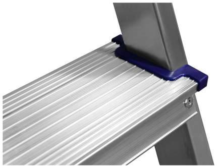 Стремянка СИБИН двухсторонняя алюминиевая, 2 ступени
