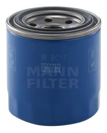 Фильтр масляный двигателя MANN-FILTER W8017