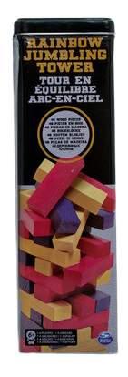 Настольная игра Spin master Дженга. Падающая башня, цветная