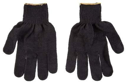 Перчатки Hammer Flex 230-019 ХБ с ПВХ покрытием, 5 нитей, черные, 5 пар 406413