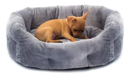 Лежанка для кошек и собак Дарэлл 40x50x16см серый