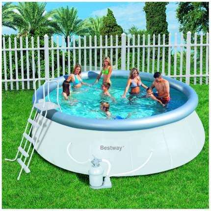 Надувной бассейн BestWay Fast Set 57242 457х122 см