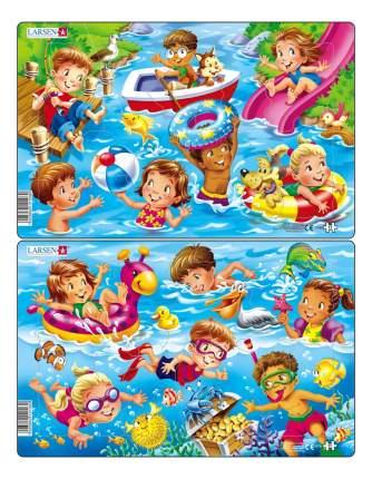 Пазл Larsen Дети на море