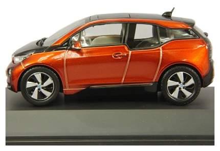 Коллекционная модель BMW i3 (i01) оранжевая