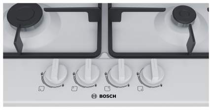 Встраиваемая варочная панель газовая Bosch PGP6B2B90R White