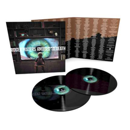 Виниловая пластинка Roger Waters AMUSED TO DEATH (200 Gram/Analogue productions)