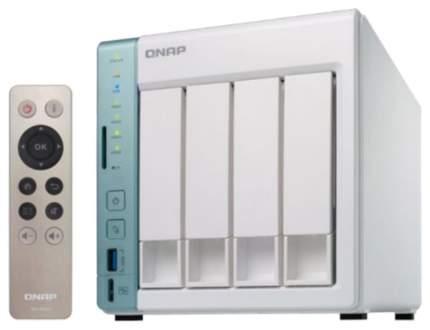 Сетевое хранилище NAS Qnap D4 Pro Белый