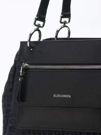 Сумка женская кожаная Eleganzza Z4927-4740 синяя/черная
