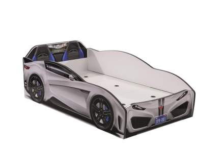 Кровать-машина Cilek Carbed Spyder белая 70х130