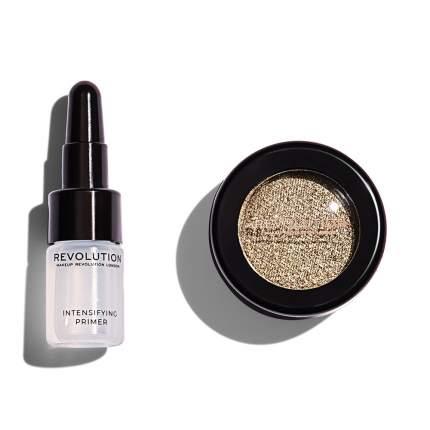 Праймер + тени для век Makeup Revolution Flawless Foils, Retreat