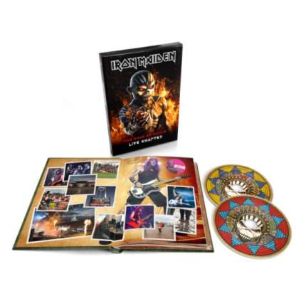 "Аудио диск Iron Maiden ""The Book Of Souls: Live Chapter (Deluxe Edition)"" CD"