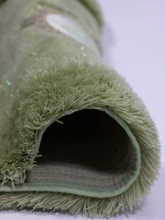 Ковер для туалета 50х50(зеленый) Royal акрил