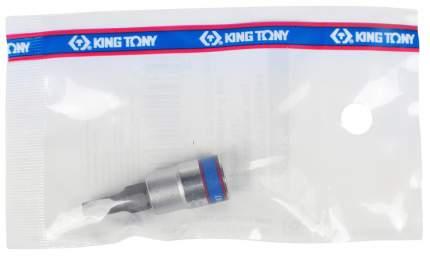 Торцевая головка с вставкой битой KING TONY 203504