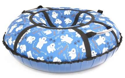 Тюбинг Hubster Люкс Pro Мишки синие 90 см